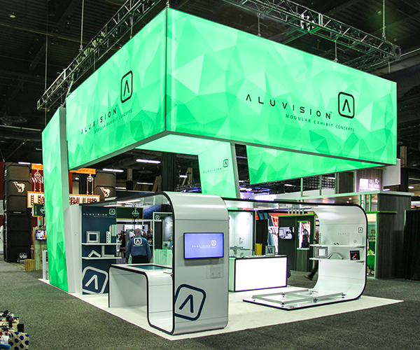 Aluvision stand op ExhibitorLive
