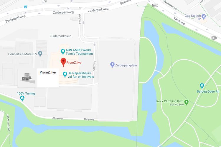 PromZlive op Google maps