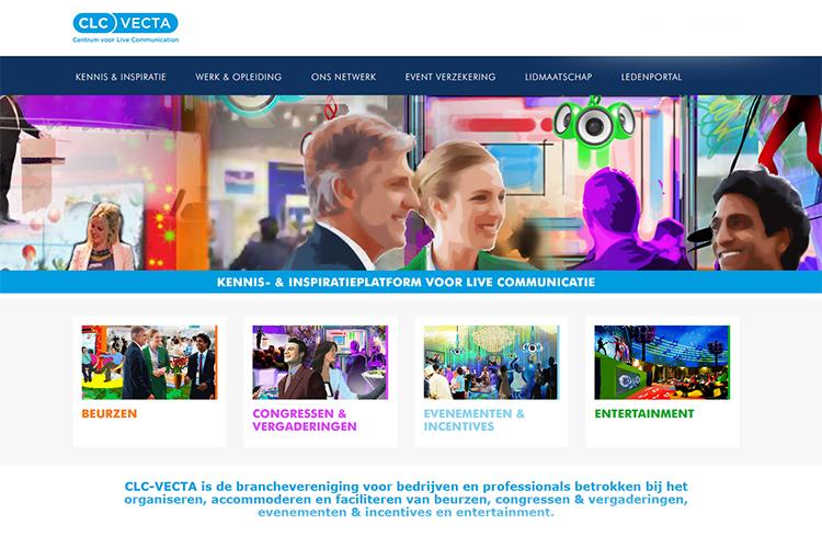 Nieuwe website CLC-Vecta