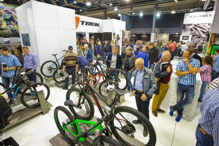 Bezoekers op Bike Motion Benelux voorjaar 2018