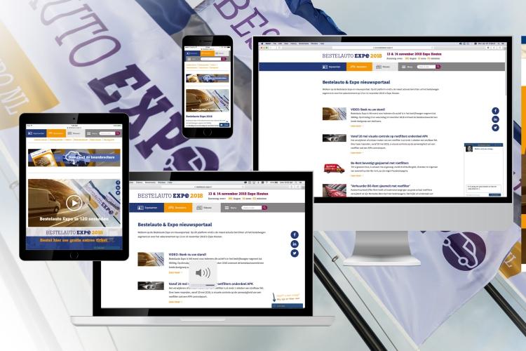 Bestelauto Expo online