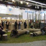 Beursconcept Daikin op Chillventa met standvloer van gras