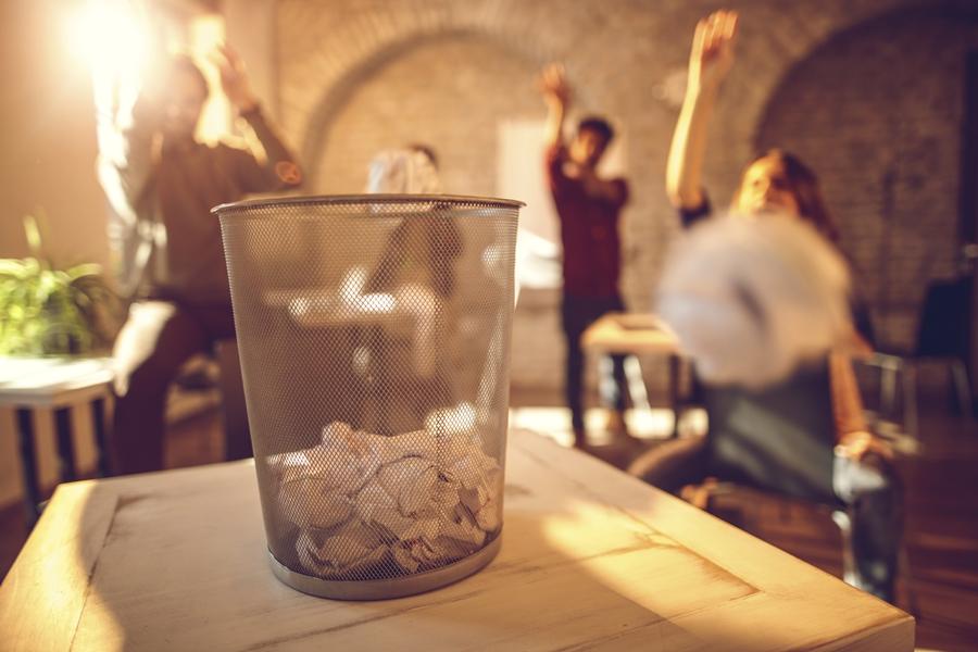 Duurzaam deelnemen aan een beurs © http://www.istockphoto.com/nl/portfolio/BraunS