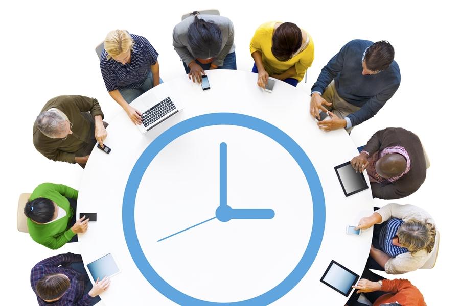 Het uur u voor het standteam © http://www.istockphoto.com/nl/portfolio/Rawpixel