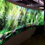 ISE led displays naadloze wall