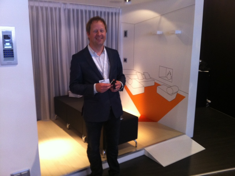 Marc van Blerk van Legrand Nederland op Design District 2012