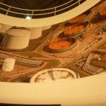 Grootformaat print aan de binnenzijde van de tankstand van Verwater op StocExpo