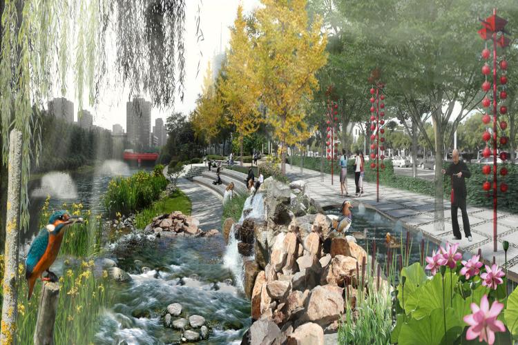 Water in de openbare ruimte