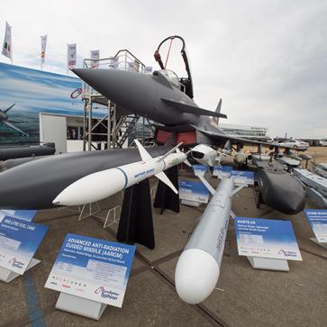 Farnborough Airshow Eurofighter Typhoon