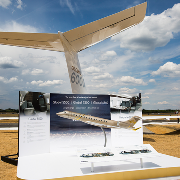 Farnborough Airshow Global 6000