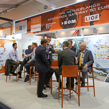 Farnborough Airshow Holland Paviljoen
