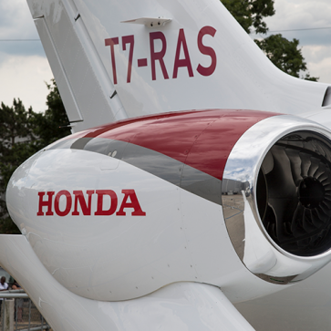 Farnborough Airshow Honda