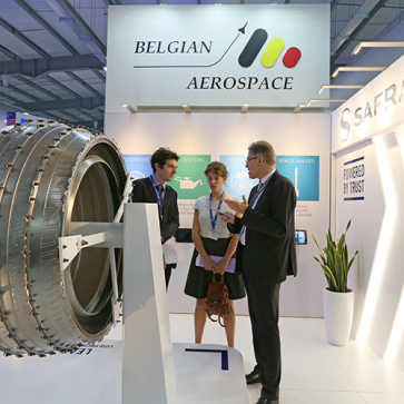 Farnborough Airshow Saffran België