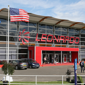 Farnborough Airshow leonardo