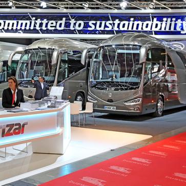 Busworld Irizar sustainability