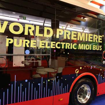 Busworld Transdev electric bus