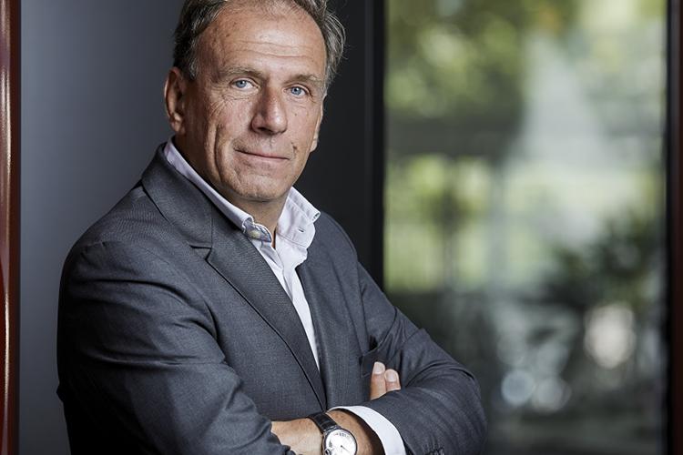 Renaud Hamaide, voorzitter Comexposium