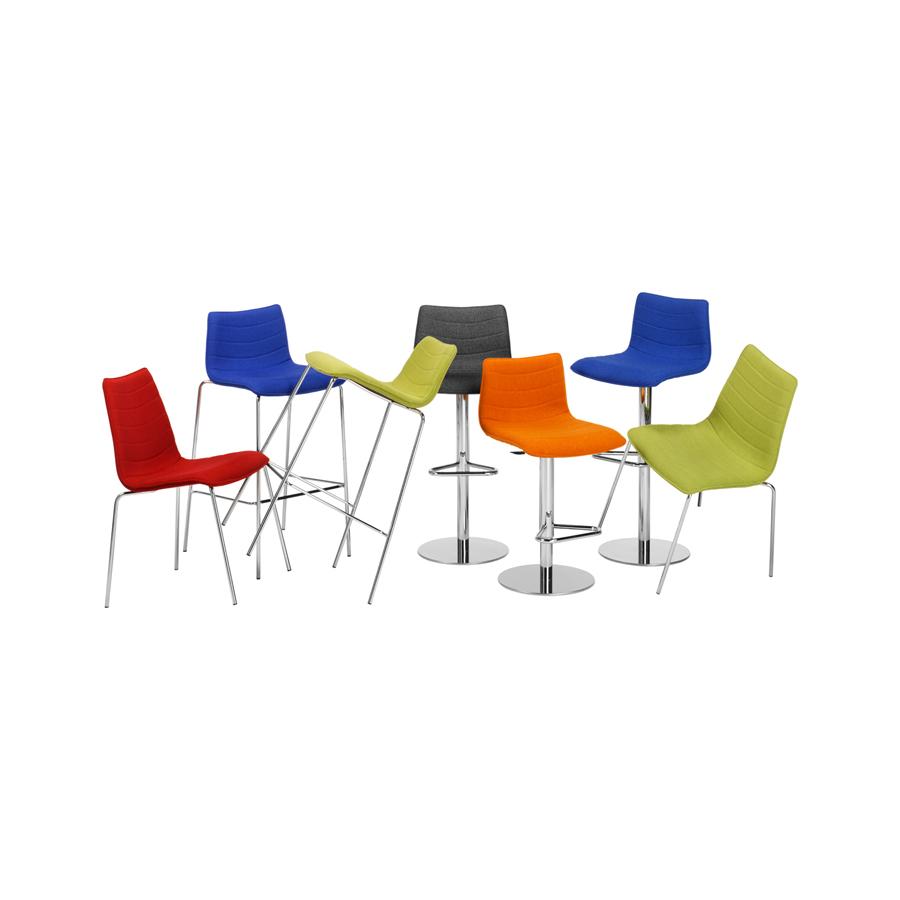 Designstoel collectie kleuren TWIST JMT