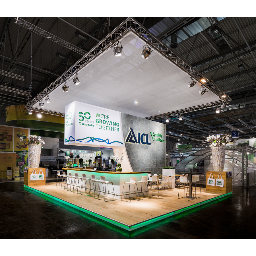 ICL Fertilizers Stand Expo Woodfever