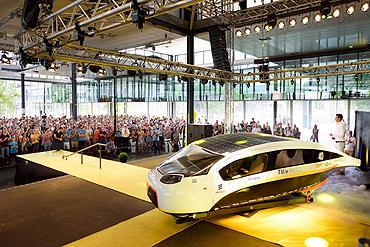 presentatie Stella Vie van Solar Team Eindhoven