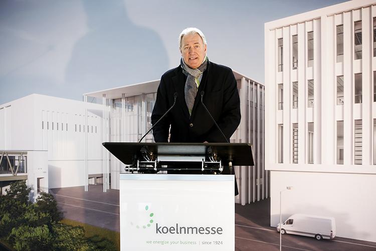 Koelnmesse-voorzitter Gerald Böse
