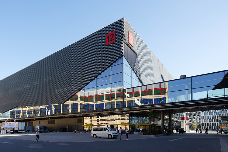 Eind vorig jaar nam Messe Frankfurt Hall 12 in gebruik, goed voor twee verdiepingen van elk 16.800 vierkante meter