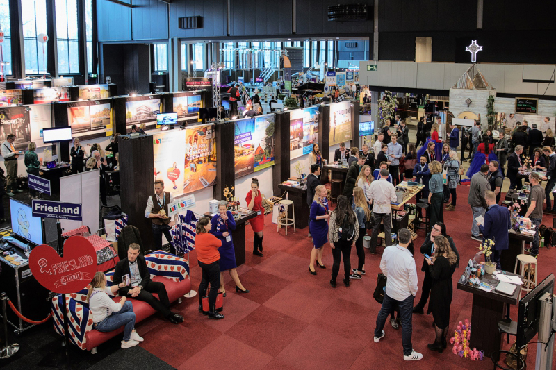 Beursstands op Eventsummit 2019 © Robert Aarts