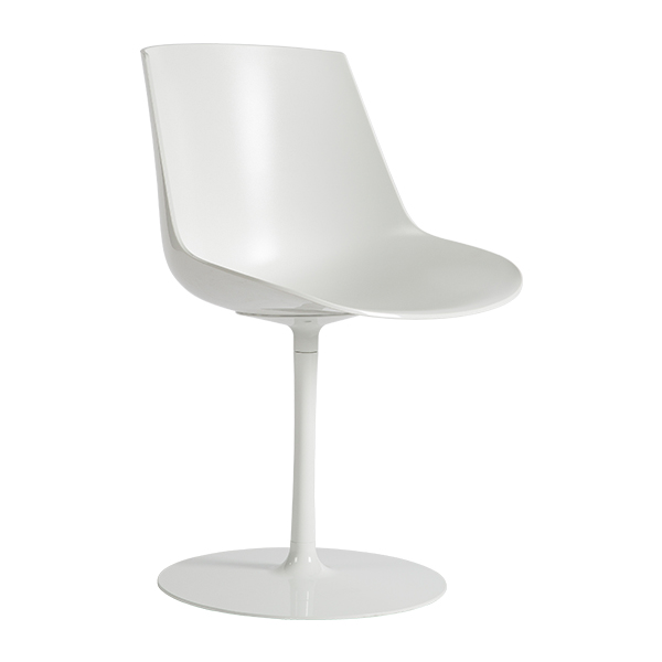 Flow Chair met ronde voet
