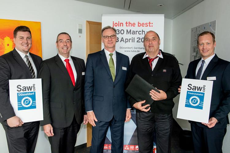 Gunnar Holm Ahrens, Friedrich-Georg Kehrer, Wolfram N. Diener (Managing Director), Stefan Motte (Sägebörse) und Daniel Ryfisch (MD)