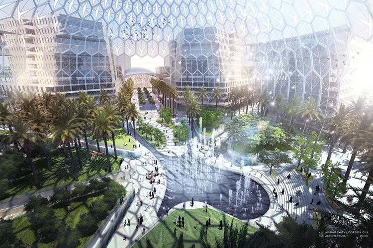 Expo 2020 Al Wasl Plaza