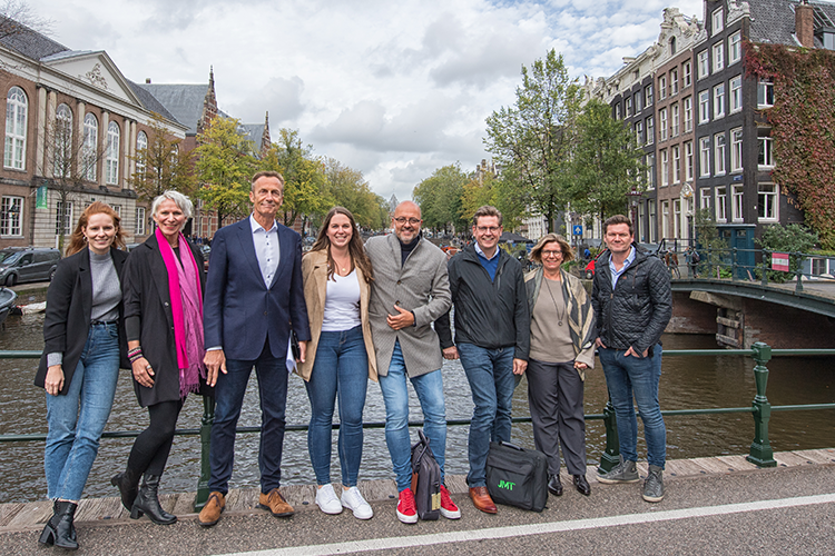 Het team van IFES World Summit Amsterdam 2020