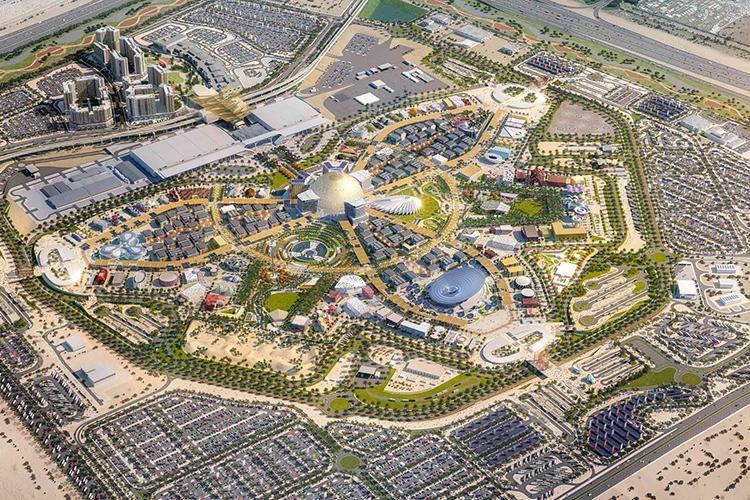 World Expo 2020 Dubai overzicht