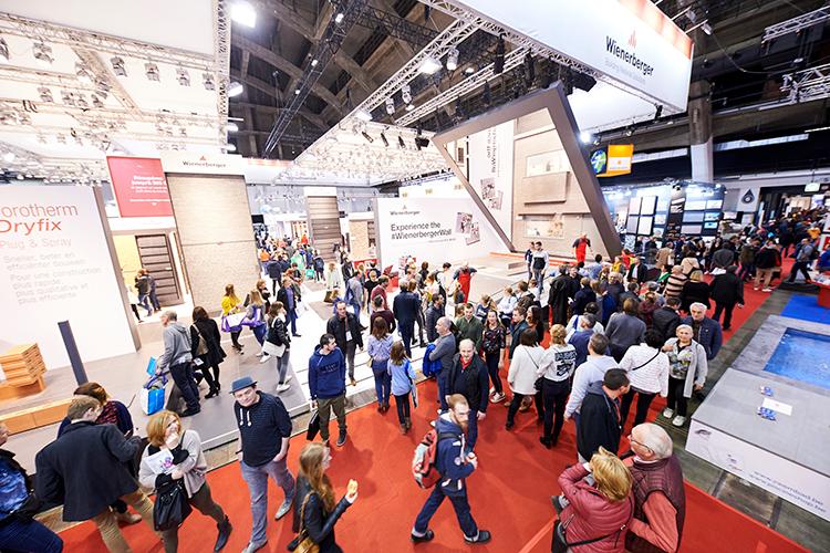Beursvloer Batibouw 2019 Brussels Expo