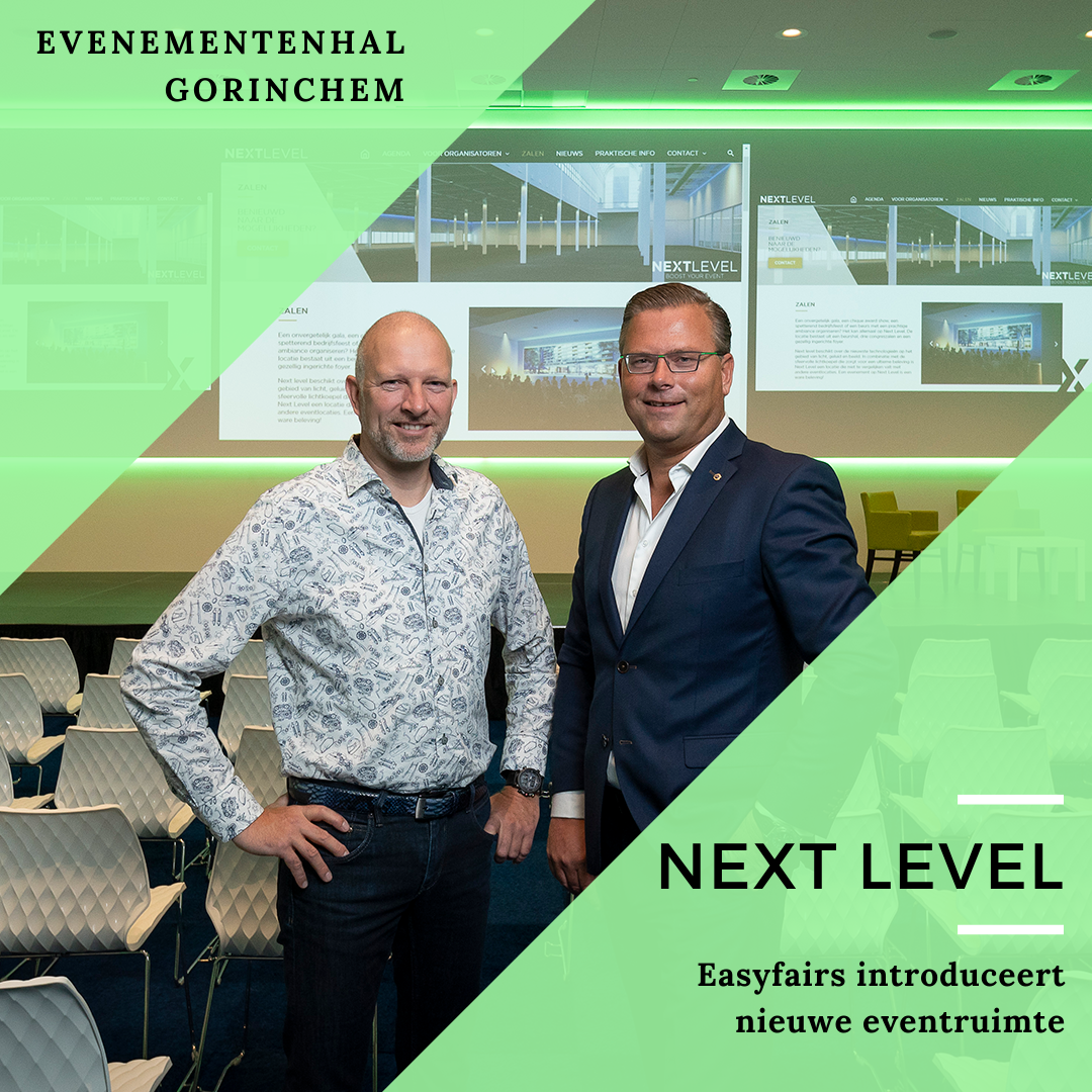 NEXT LEVEL: 6000 M2 EXTRA EVENTRUIMTE IN GORINCHEM