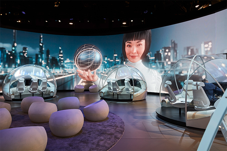 Hyundai Design your own World op CES 2019