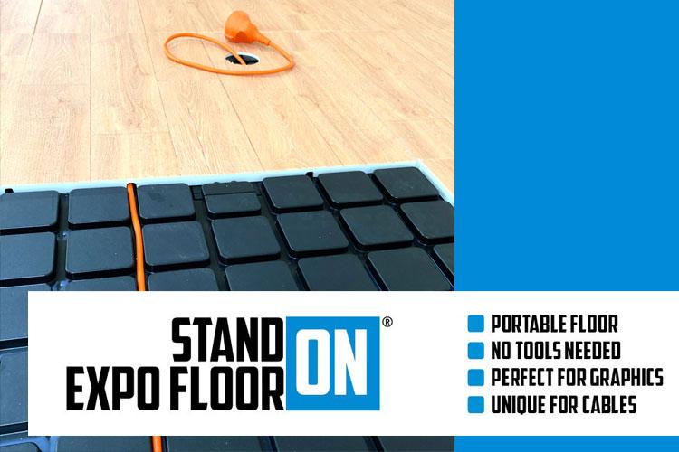 Unieke Stand-On Design vloer