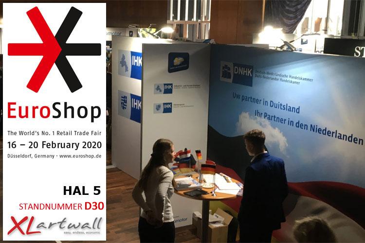 XLartwall BV met noviteiten en verkoopacties op Euroshop 2020