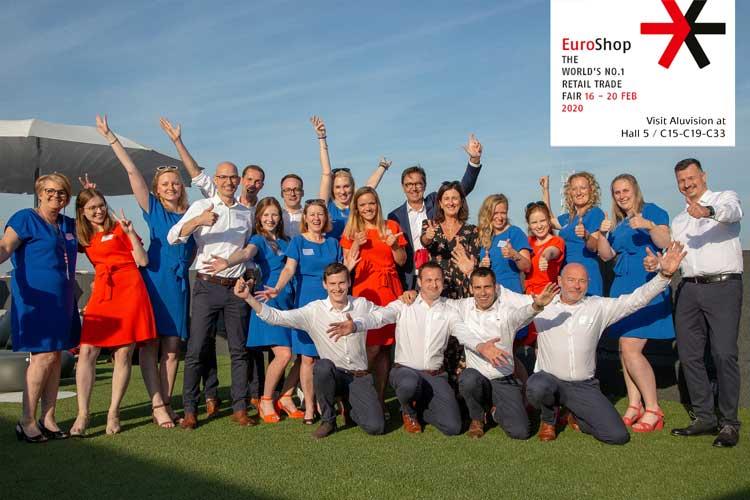 Bezoek de Aluvision family op Euroshop 2020!