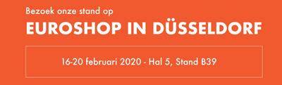 Bezoek onze stand op EuroShop 2020 Adexpo