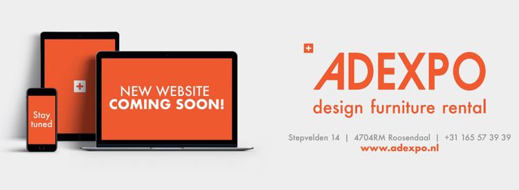 New website coming soon banner Adexpo