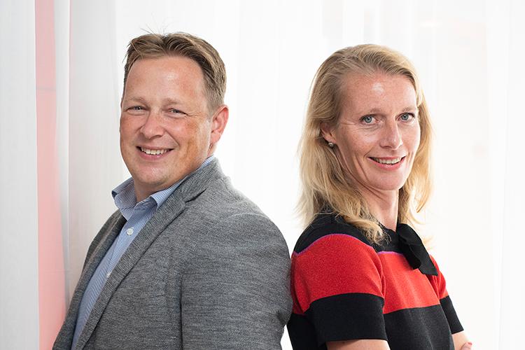 Rob Beltman en Maricken Hengeveld vertellen over de nieuwe huisstijl van Jaarbeurs Utrecht