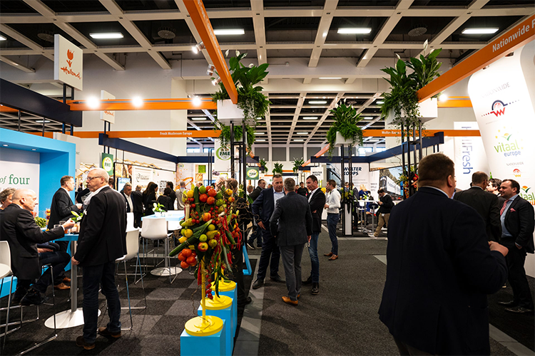 Beurscatering Young Events op vakbeurs in Berlijn