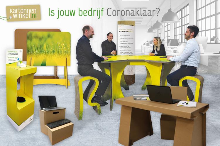 karonnenwinkel.nl is jouw bedrijf Coronaklaar