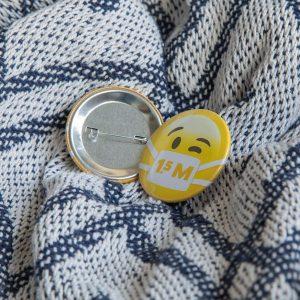 standaard corona button