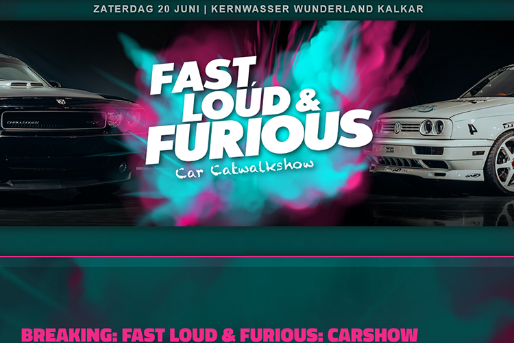 Fast, Loud & Furious Car Catwalk