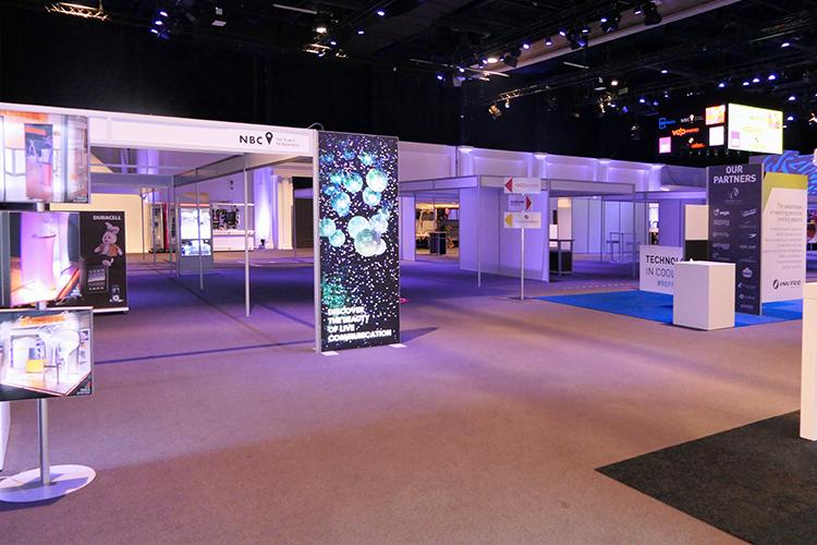 Anderhalvemeter beursconcept van NBC Congrescentrum in Nieuwegein