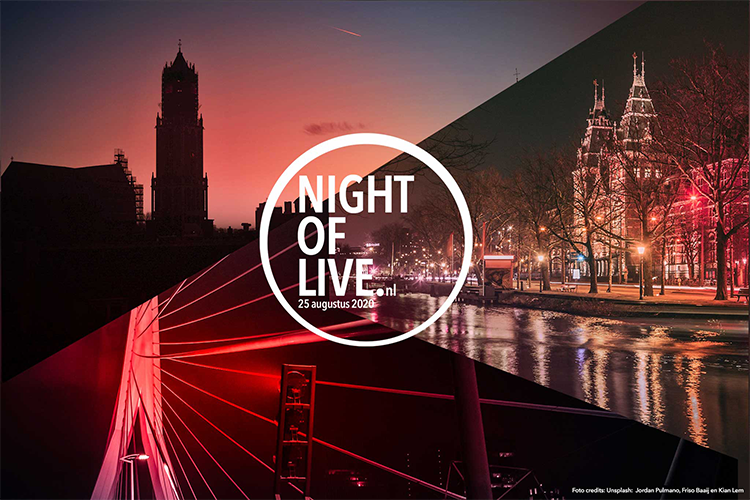 Night of Live 25 augustus 2020