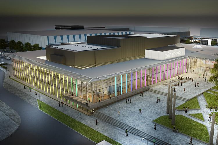 Impressie renovatie MECC Maastricht