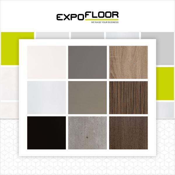 Expo Floor Kleurkeuze vloerdelen