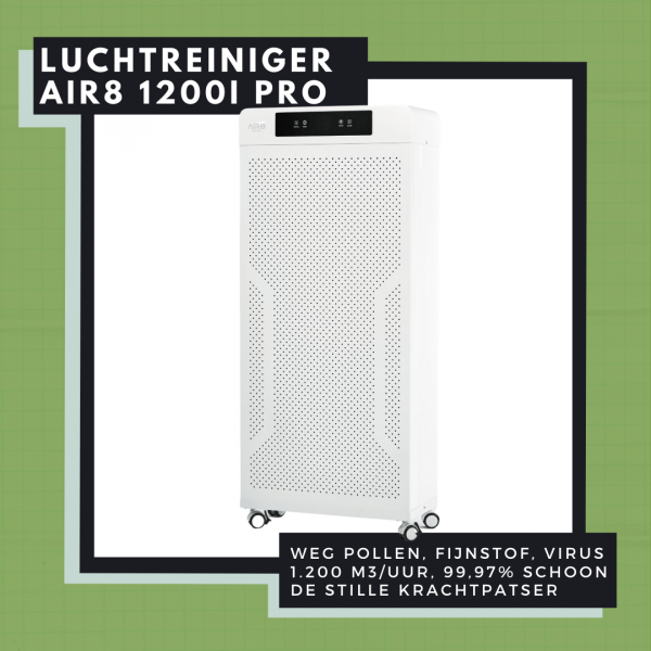 Mobiele luchtreiniger AIR 1200I PRO